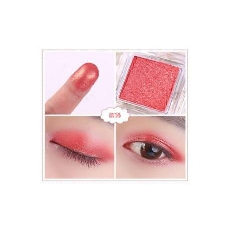 116 - Egyetlen csillogó fém szemhéjárnyaló paletta vízálló szem masszázs kozmetikai