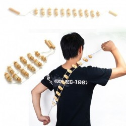 Fa test nyak hát derék masszírozó Fitnessz Roller