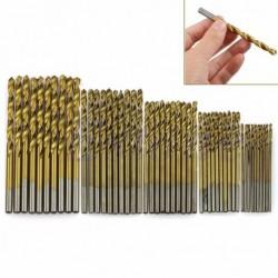 50db Titanium bevonatú fúró fej 1 / 1,5 / 2 / 2,5 / 3 mm
