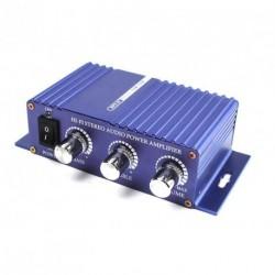 12V-os Autós sztereó audio erősítő 400W MP3 bemenettel