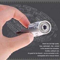 105A ° szög  1 / 4inch 6mm Hex fúró csavarhúzó