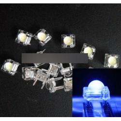 10db 5mm F5 Piranha LED kék Super Bright dióda