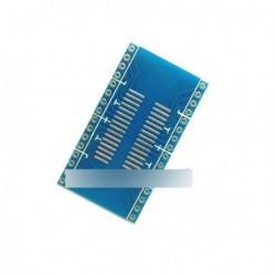 SOP32 - DIP32 1,27 pályán interposer NYÁK adapter