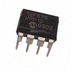 IC PIC12F675-I / P PIC12F675 DIP8 MICROCHIP MCU
