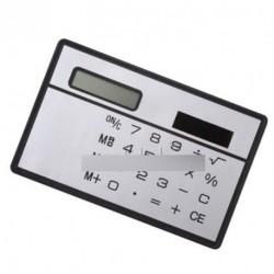 8 számjegy Ultra Mini  napelemes számológép