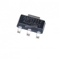 10db AMS1117-ADJ  fesz szabályozó SOT-223