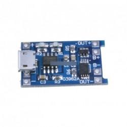 5V Micro USB 1A 18650 lítium akkumulátor töltés