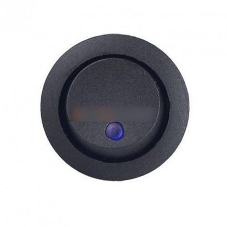 2db AC 125V / 250V kék LED Rocker billenőkapcsoló