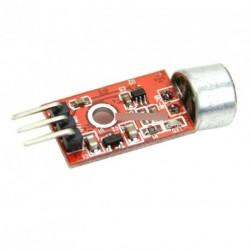 3.3V 3.5V MAX9812 mikrofonerősítő hang MIC Arduino