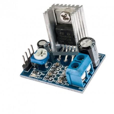 Tápegység TDA2030 hangerősítő modul TDA2030A 6-12V