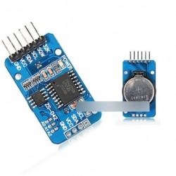 2db DS3231 Arduino IIC clock óra memória modul