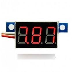 3.3V-30V LED lítium akkumulátor digitális voltmérő