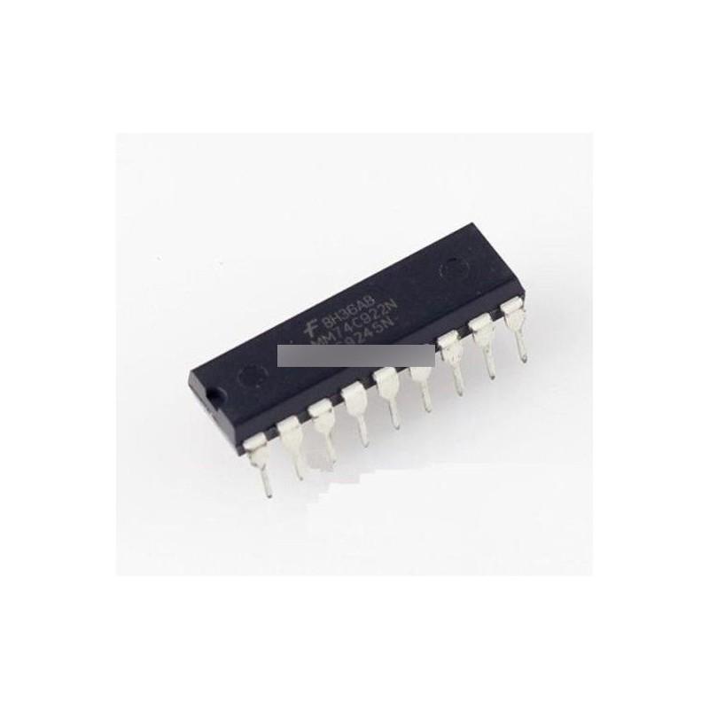 1PCS IC MM74C922N MM74C922 FSC ENCODER 16-KEY DIP-18 NEW
