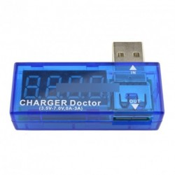 2db USB Meter akku Tester Teljesítmény Detektor