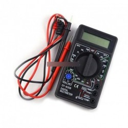 Digitális multiméter AC DC voltmérő Ohm Teszter