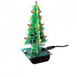 LED DIY Kit Profi Piros Zöld LED vaku karácsonyfa