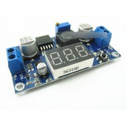 2db LM2596 DC-DC konverter modul LED voltmérő Red