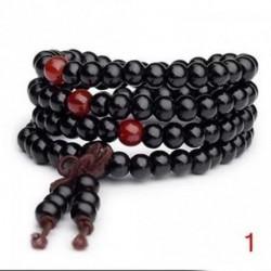 1 - Buddhista meditáció 6 mm * 108 gyöngy Mala nyaklánc karkötő