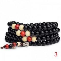 3 - Buddhista meditáció 6 mm * 108 gyöngy Mala nyaklánc karkötő