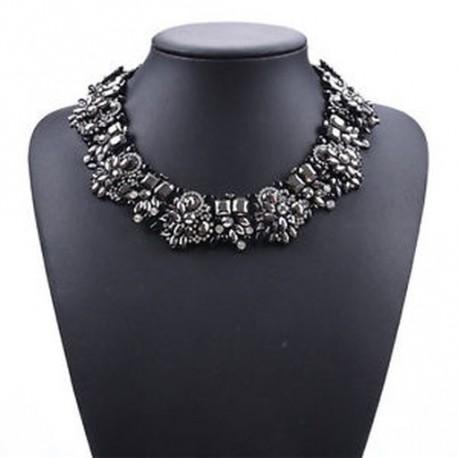 8fec1db14d 20 - Luxus Crystal strassz medál Choker nyakörv nyaklánc Női esküvői ékszer