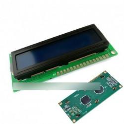 10db LCD kijelző modul HD44780 kék Arduino LCD