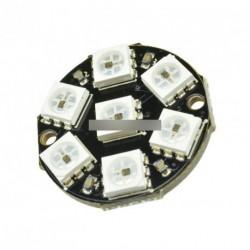 10db 7-Bit WS2812 5050 RGB LED gyűrű Lámpa Arduino