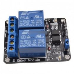 10 db AVR DSP ARM Arduino 2 csatornás relé modul
