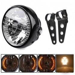 """Hot 7 """"motorkerékpár kerékpár fényszóró LED"""