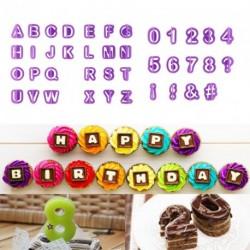 40db betű szám fondant torta sütés forma