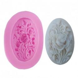 Rózsa Alakú Szilikon fondant sütemény forma