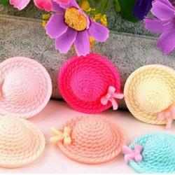 Szép kalap alakú szilikon fondant sütemény forma
