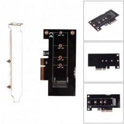 Key M.2 NGFF SSD - PCI-E slot X4 átalakító kártya