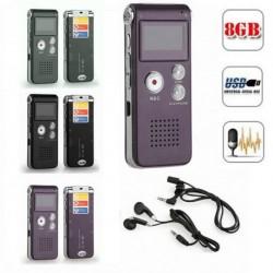 8GB 13 óra Digital Audio MP3 lejátszó Diktafon 1db