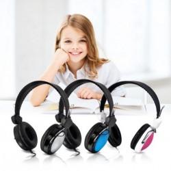Állítható sztereó fejhallgató mikrofon Headset 1db