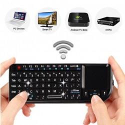 Mini vezeték nélküli billentyűzet egér Touchpad