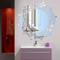 Vogue dekoratív tükör akril falimatrica