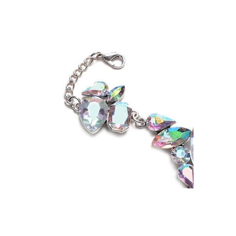 f09d4d908d Ezüst - Új szexi női strand nadrág szandálok lánc Crystal anklet Foot  karkötők ékszerek