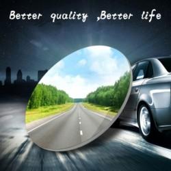 """1db 2 """" kerek autós véletlen tükör Hátulnézet széles látószögű kerek konvex tükör"""