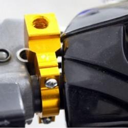 """színes 7/8 """"-os 10 mm motorkerékpár kerékpár fogantyú tükör tartó"""