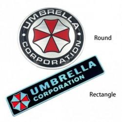 3D Resident Evil Umbrella Corporation autós matrica jelvény fémfólia