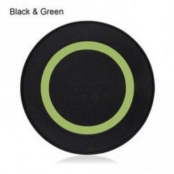 Fekete és zöld - Hot Sale Hordozható Univerzális Qi vezeték nélküli töltő matrac töltő Smartphone