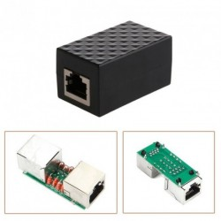 Villám levezető RJ-45 adapter Ethernet túlfeszültségvédő