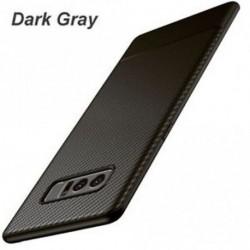 sötét szürke - Telefonos tok szénszálas hátlap Shockproof for Samsung Galaxy Note 8
