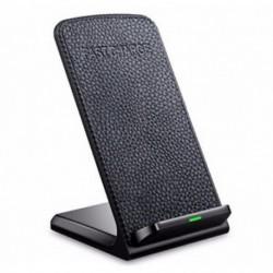 Qi gyors vezeték nélküli töltő iPhone X 8 Samsung S8 töltőállvány hordozható pad dokk