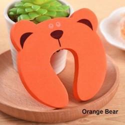 Narancssárga Medve - 1 db Kid ujjvédő Ajtódugattyúzárás Jammers Csipkésgátló a gyermek biztonságához