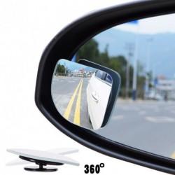 2db autó 360 fokban állítható Autó Motorkerékpár holttér tükör kiegészítő