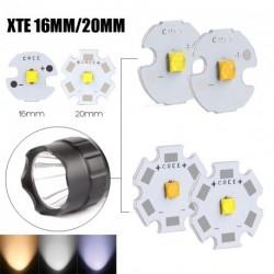 1x 5W XTE 20MM LED fehér lámpa gyöngy fény zseblámpa izzó