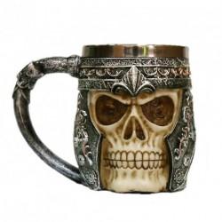 1db 3D koponya mintás gótikus stílus Sörös kávés bögre Viking pohár