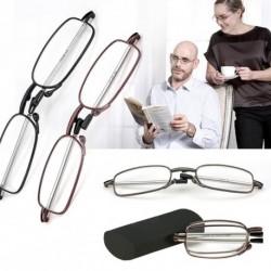 1db Hordozható divatos összecsukható olvasó Szemüveg 1,5 2,0 2,5 3,0 3,5 4