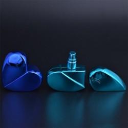 6db 25ml szív alakú Üres Parfüm porlasztó utántölthető illóolaj spray ajándék